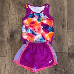 Girls Skechers Shorts and Tank Top (7/8)
